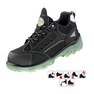 CESARO S3 pracovní bezpečnostní obuv z nubukové kůže - foto 1