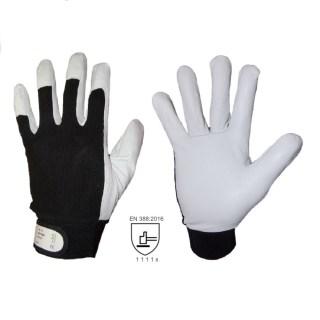 MONTER AB kombinované pracovní rukavice z lícové vepřovice - foto 1