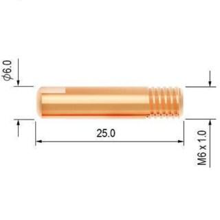 PB1527-12 Průvlak 1.2 M6/6/25 MB PARKER