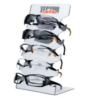 Stojan na ochranné pracovní brýle TECTOR, 17 x 36 x 12 cm - foto 1