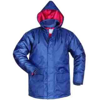 AMRUM modrá zimní pracovní bunda ze 100% polyesteru - foto 1