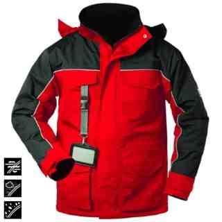 GOSWICK červená zimní pracovní termobunda z polyamidu - foto 1