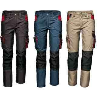 HARRISON montérkové kalhoty khaki velikost 60 - 62 - foto 1