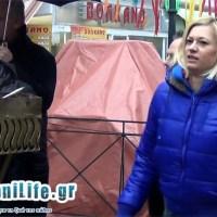 Οι χοροί της Ραχήλ Μακρή στον Φανό της Αποκριάς της Κοζάνης! Δείτε το βίντεο του kozaniLife.gr