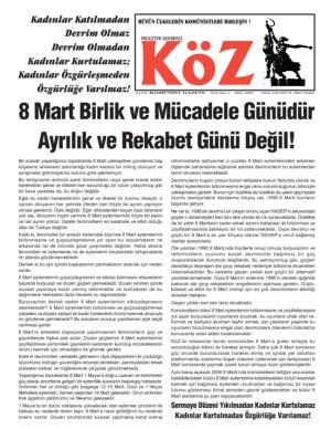 thumbnail of Koz Mart 2006 Özel Sayı