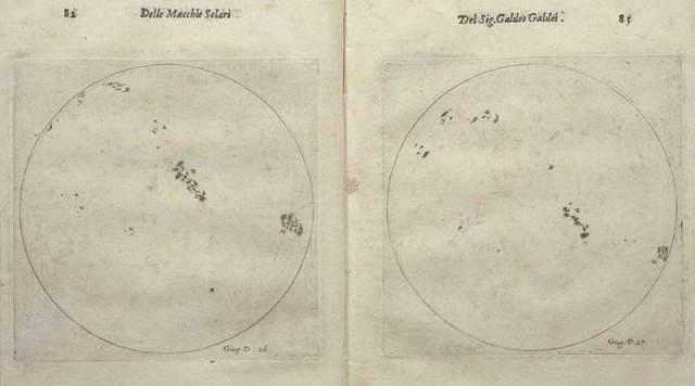 Galileo Güneş Lekesi