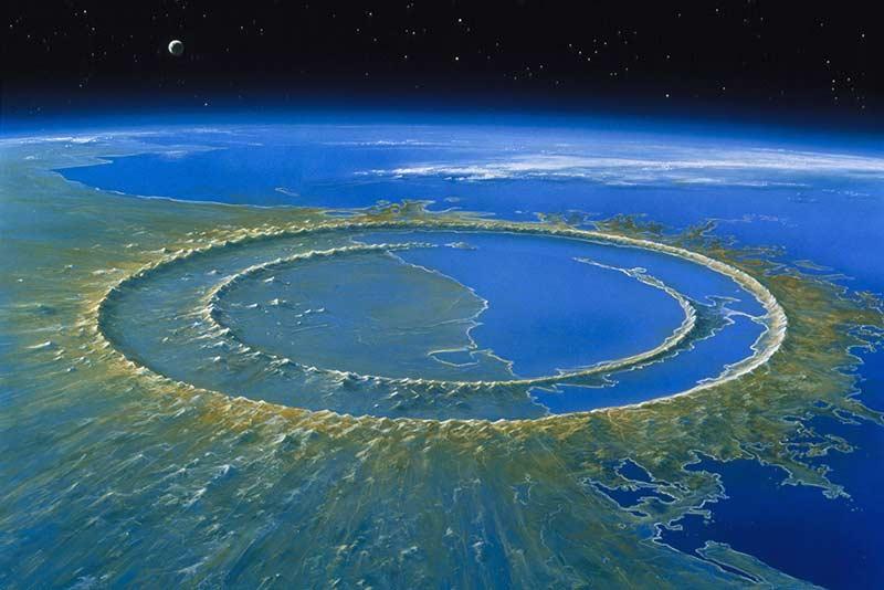 Yucatan Meteor - Asteroit