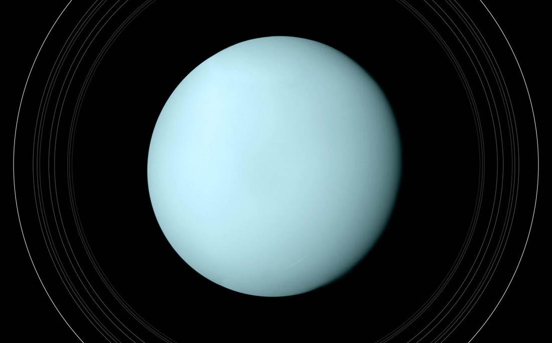 """Uranüs Gezegeni Neden Böyle Tekdüze Ve """"Pürüzsüz""""? • Kozmik Anafor   Türkiye'nin Astronomi Kaynağı"""