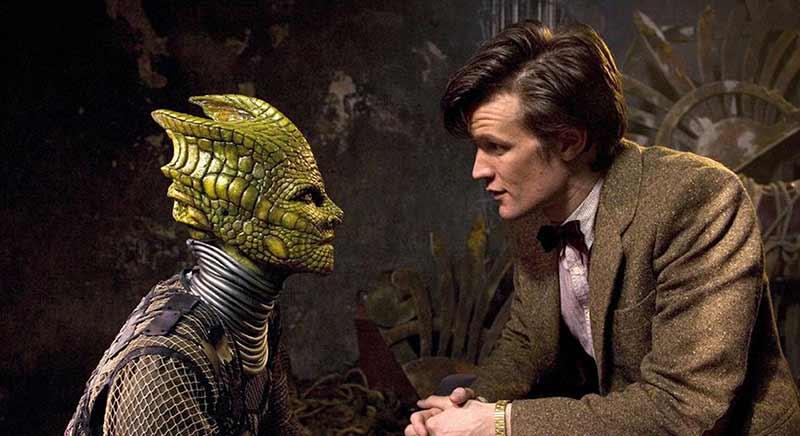 En güzeli Doctor'un reptilianı. En azından kötü biri değil.