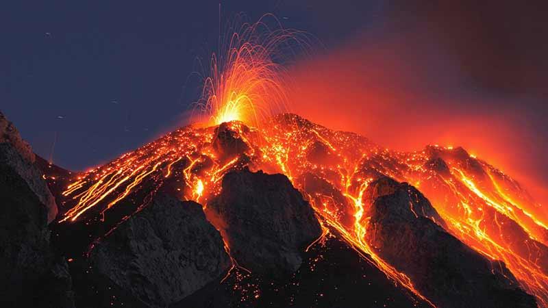 Tek bir süper volkanın patlaması, koca bir gezegendeki gelişmiş medeniyetleri yok edebilir.