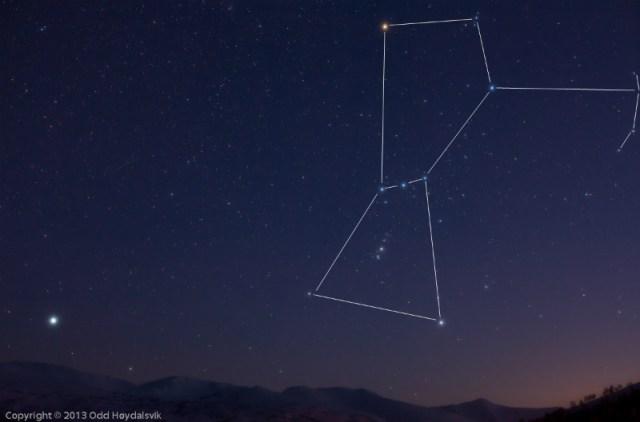 Avcı (Orion) Takımyıldızı
