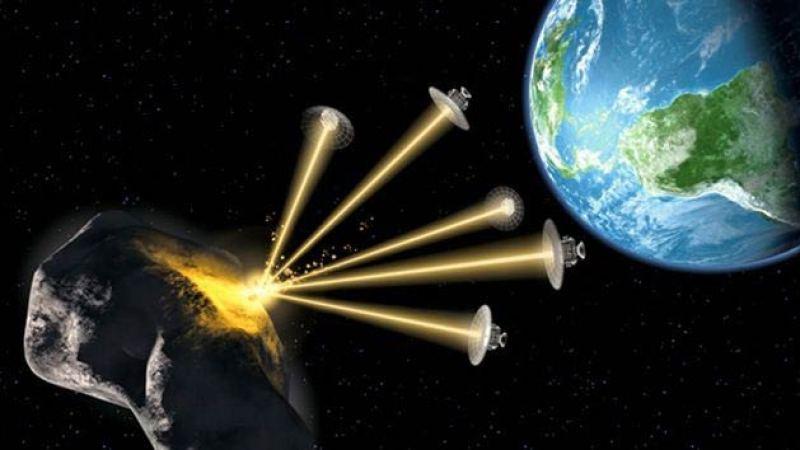 Güneş ışığını yüzeyine yansıtarak, Dünya için tehlike yaratan bir asteroidin yönünü değiştirmek mümkün.