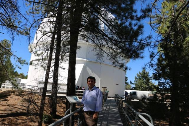 100 inçlik Hooker Teleskobu'nun bulunduğu gözlemevi
