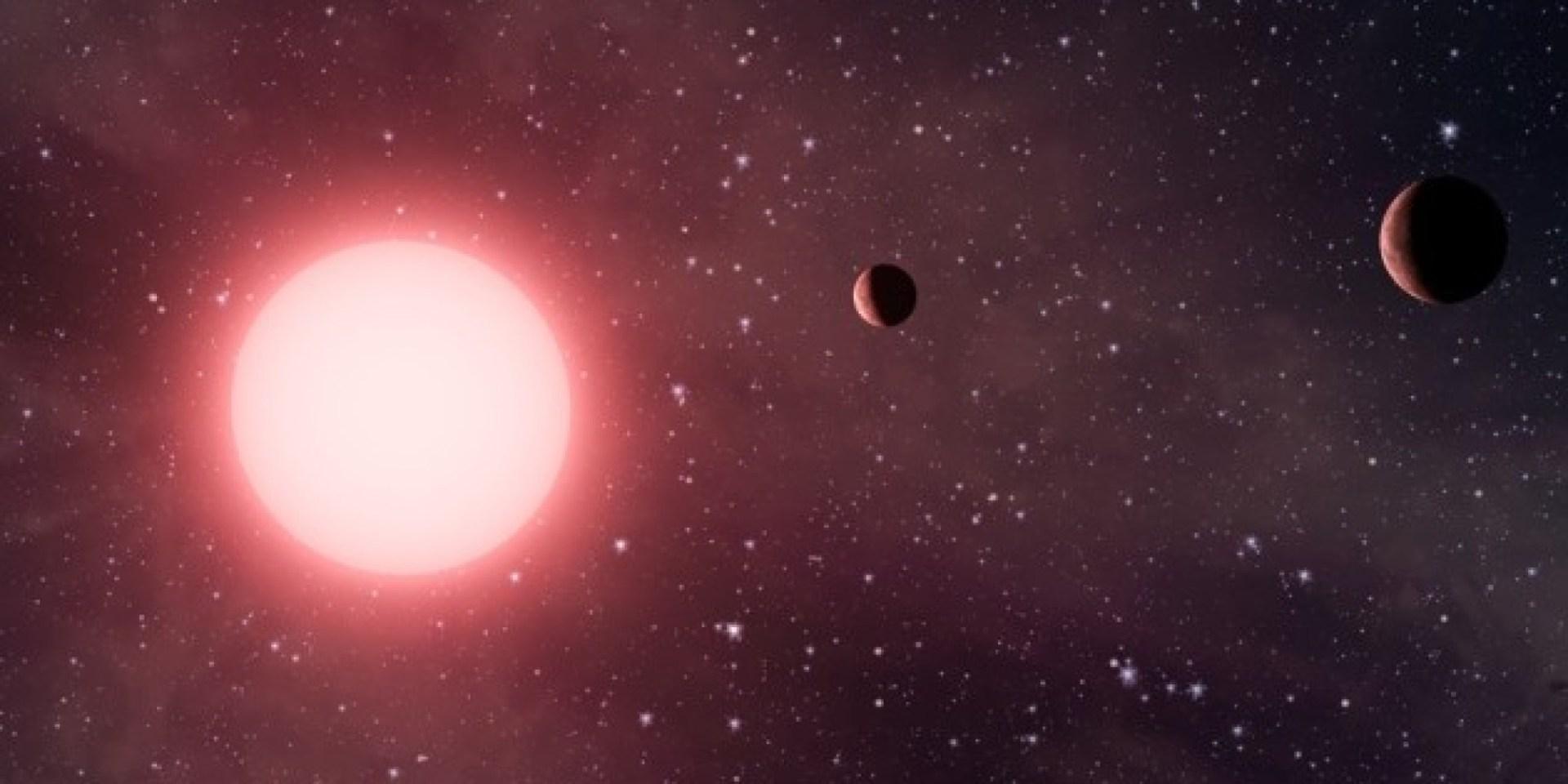 Sanatçı benzetimi: NASA/Kepler Takımı