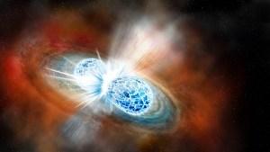 Çarpışan Nötron Yıldızlarından Gelen Kütle Çekim Dalgaları Tespit Edildi