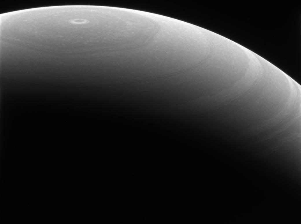 """Satürn Kutup """"altıgen""""i."""
