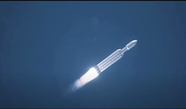 Eski Falcon Heavy.