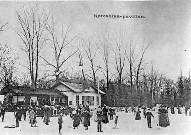 A Ligeti Korcsolya palya - 1900