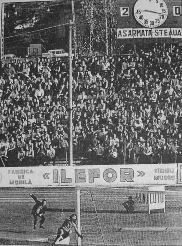 Annak idején teltház volt minden hazai  mérkőzésen...