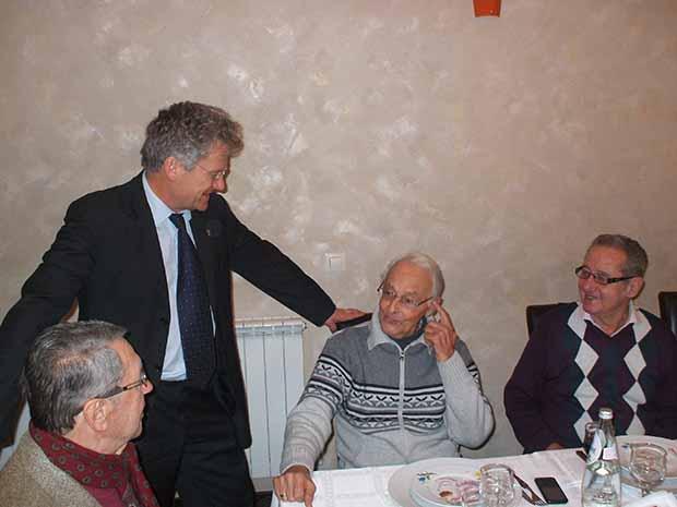 Bölöni Iuliu Curtifan, Czakó János és Sólyom Csaba  társaságában