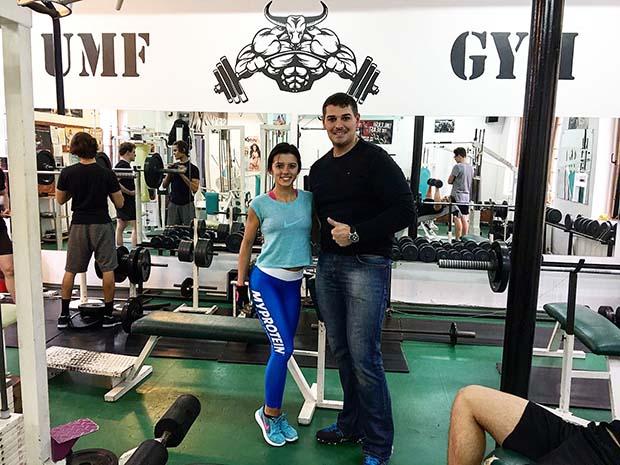 Büszke edzőjére, Sebastian Popovicira