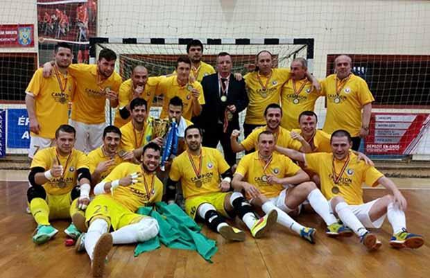 City'us Romania bajnoka 2014-2015