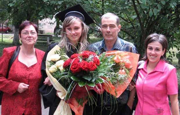 Fanici András és családja