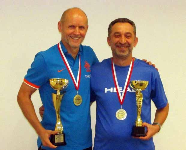 Florin Vaida csapattársával
