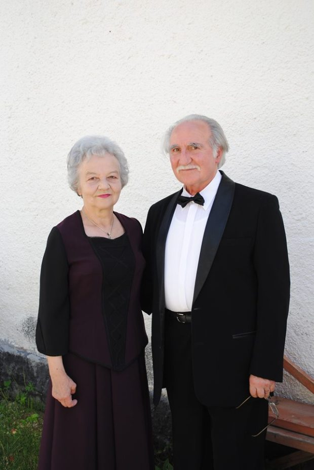 Hajdó Károly és felesége, Mária Magdolna