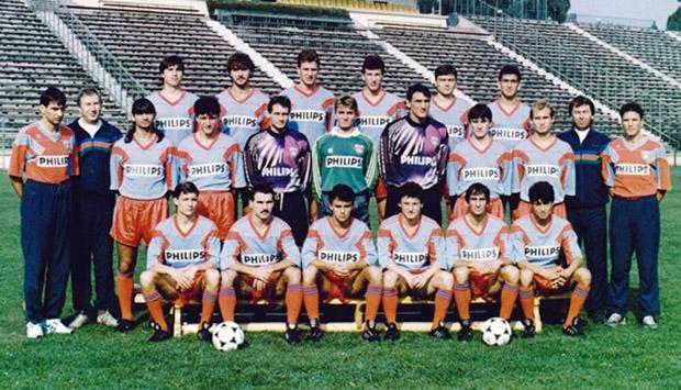 Steaua Bukarest 1991.