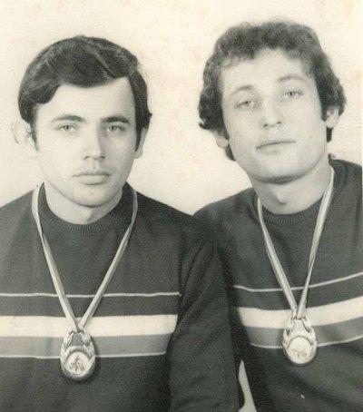 Tóth Gyula és Attila (balról jobbra)