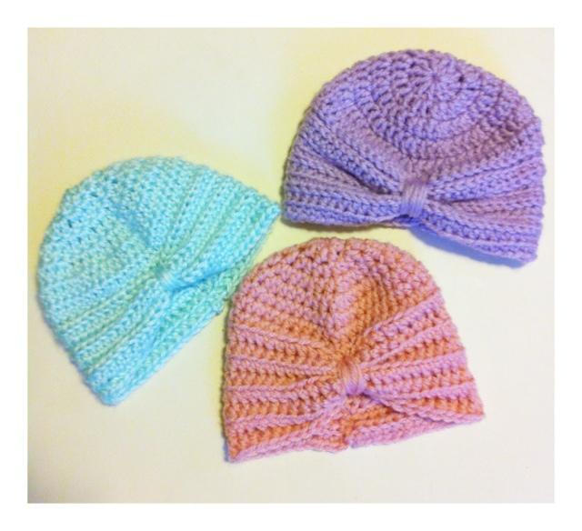 Crochet Baby Turban Pattern Kozy And Co