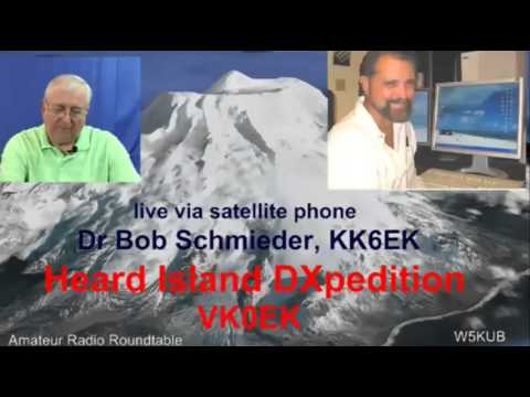 «De Radio aficionados de la mesa Redonda» Conecta en Directo con la Isla heard DXpedition, KP3AV Systems