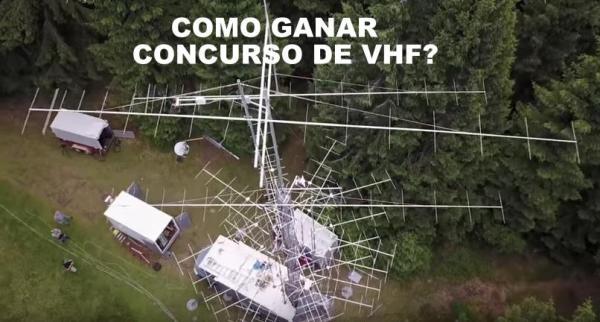 vhfcontest - Como ganar un concurso de VHF desde un remolque de un camión?