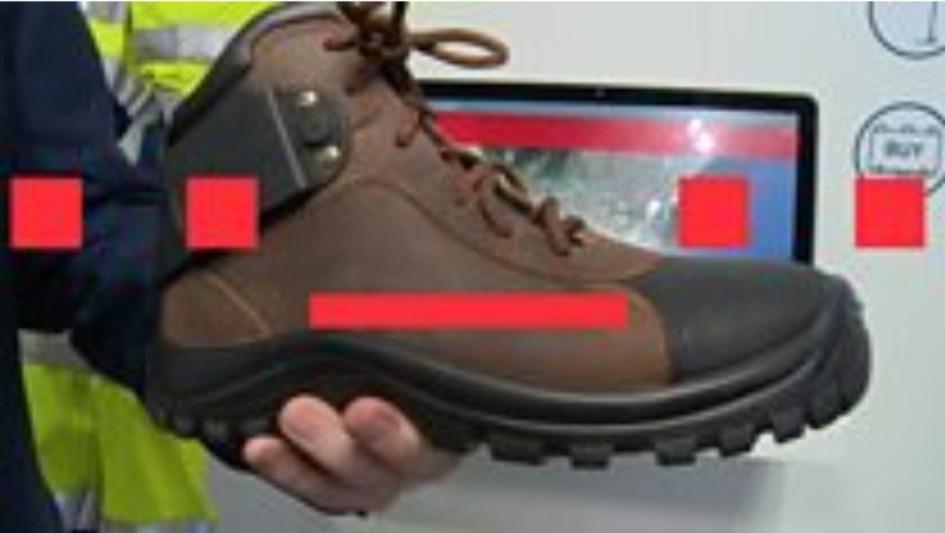 Zapatos inteligentes se comunican con telegrafia, KP3AV Systems