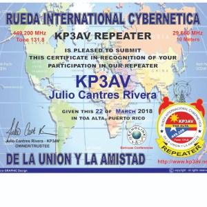 IMG 20180422 WA0001 300x300 - Nuevo Certificado para los Radioaficionados