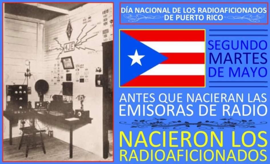 Cada segundo Martes de Mayo es el dia del Radioaficionado, KP3AV Systems