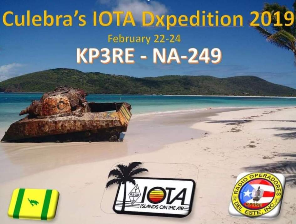 FB IMG 1547216760459 - Band Plan para el IOTA en Culebra Dxpedition 2019