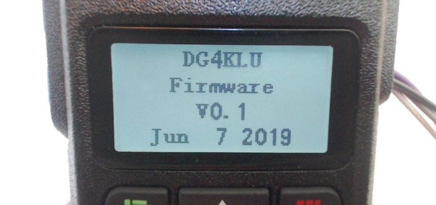 DG4KLU GD-77 firmware V 0.1 (Rx only), KP3AV Systems
