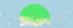 cobertura 449.200 - Repetidor C4FM, DMR y  D-Star Cubriendo el norte de Puerto Rico