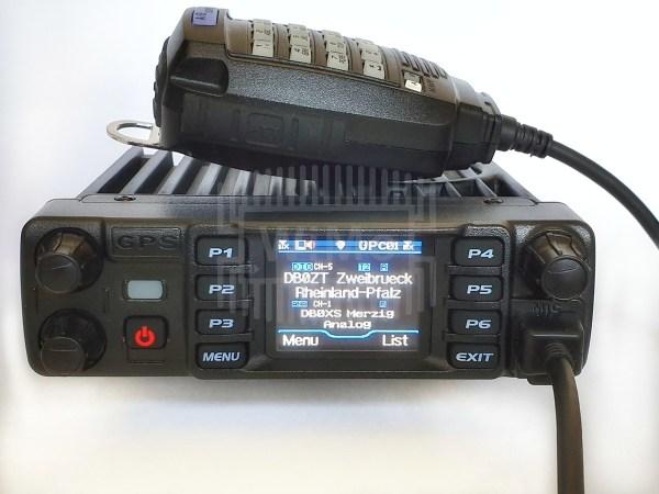 AT D578 PLUS front mic disp zb l - Un Update del AT-D578UV DMR Tri-Band Mobile