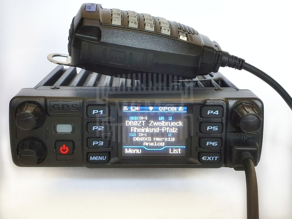 AT D578 PLUS front mic disp zb l - Un Update del AT-D578UV DMR Tri-Band Mobile