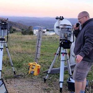 Microwave FT8 Contact on 122 GHz VK4FB 300x300 - Radioaficionado australiano informa primer contacto FT8 en 122 GHz