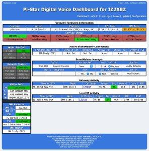 pistar - Actualización del transceptor SDR ICOM IC-705