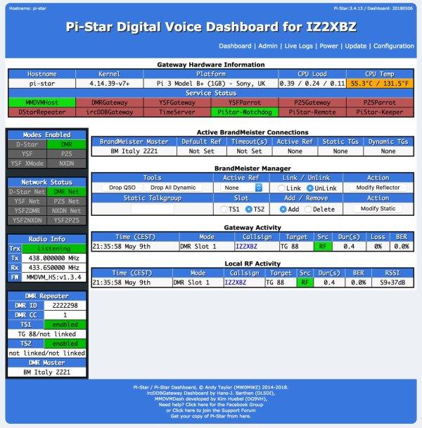 pistar - Como actualizar nuestra Pi-Star