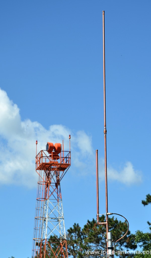 Antena J Pole para la banda de Aviación (banda aérea) 118-128 MHz, KP3AV Systems