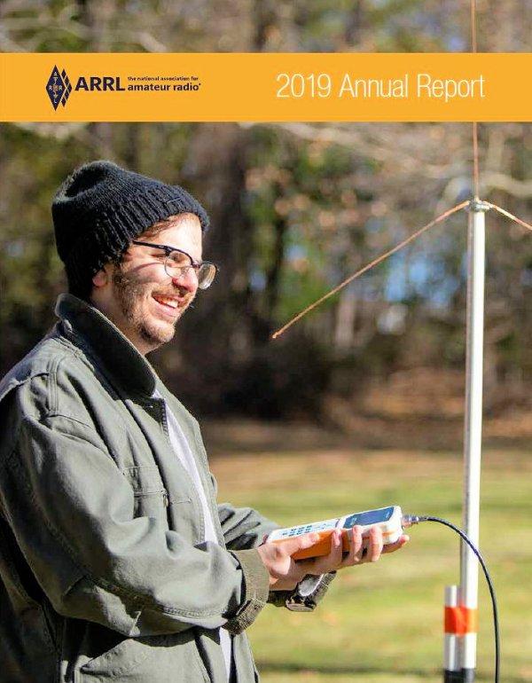 ARRL Annual Report 2019 cvr - Publicación del informe anual ARRL 2019 con retraso por la pandemia