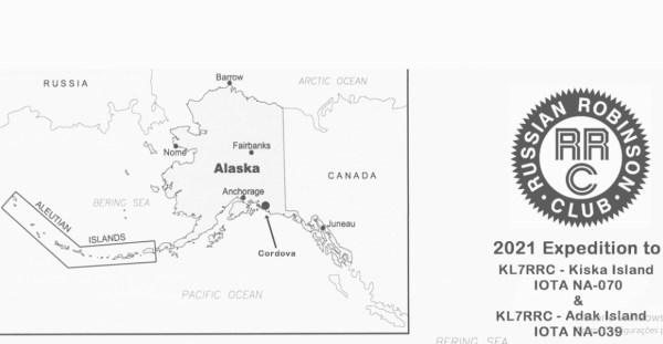IOTA - El club ruso Robinson anuncia la activación de raras islas IOTA en las Aleutianas