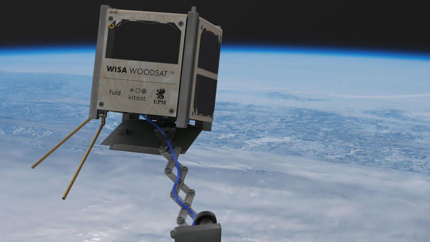 El satélite de madera se lanzará antes de fin de año, KP3AV Systems