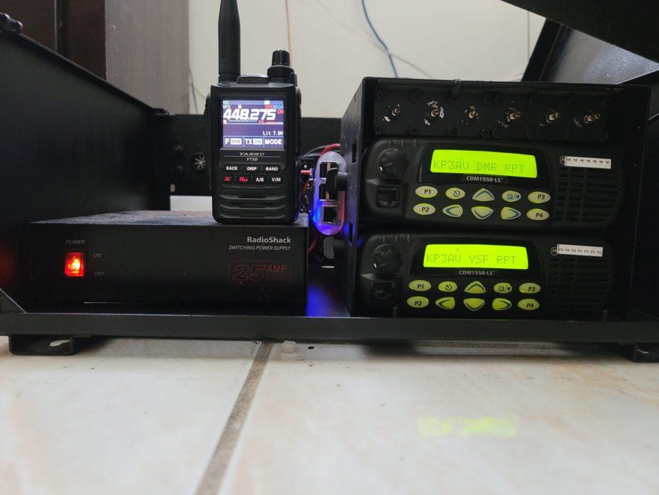 Nuevo Repetidor 448.275 en Toa Alta al aire PRUEBALO, KP3AV Systems